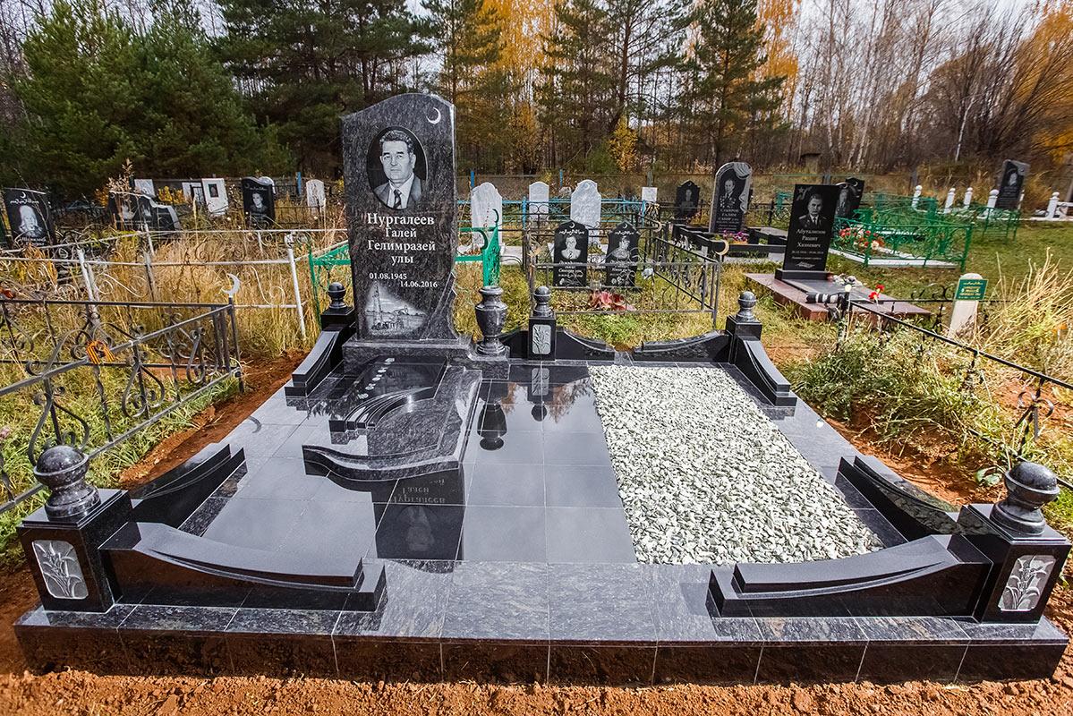 Мемориальный комплекс с крестом Набережные Челны Эконом памятник Волна Белая Калитва